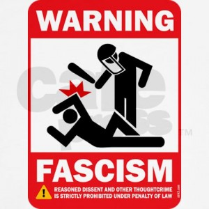 Fascism Warning Poster