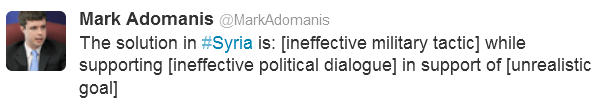 Adomanis Tweet Foreign Policy