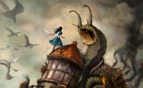 "Frm ""Alice: Madness Returns."""