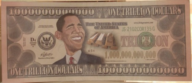 Trillion dollar bill