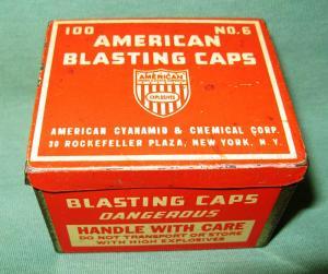 Blasting caps