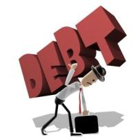 Carrying a debt burden