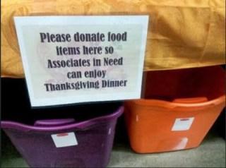 A Walmart Thanksgiving