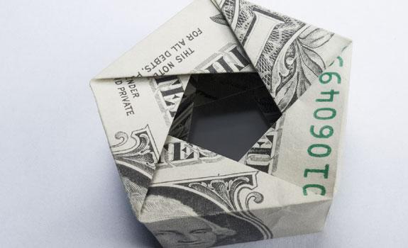 Origami Pentagon
