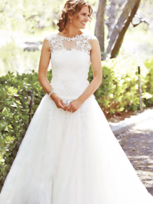 Beckett's bridal gown