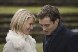 "Cameron Diaz & Jude Law in ""The Holiday"""
