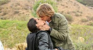 Kensi & Deeks kiss