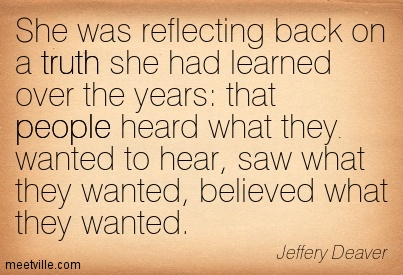Reflecting on Truth