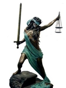 Fierce Lady Justice