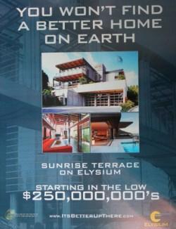 Elysium: Home sale poster
