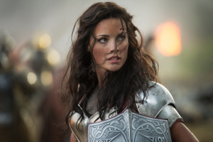 Jaimie Alexander as Lady Sif