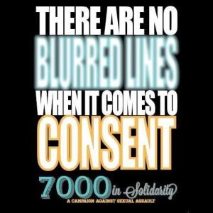 There are no blurred lines in rape