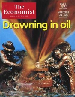 4 March 1999: The Economist predicts $5 oil!
