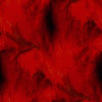 Red witch - abstract image