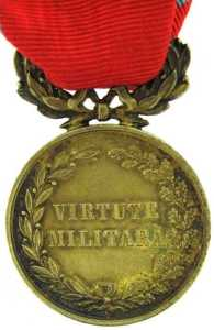 Military Virtue Medal: Romania