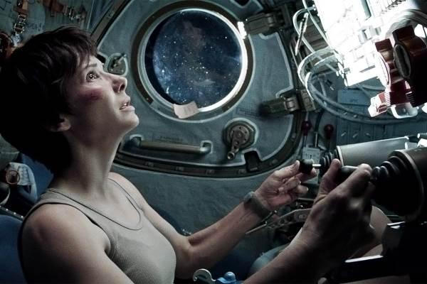 Gravity with Sandra Bullock