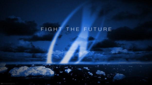 """Fight the future"" by Ramaelk at DeviantArt"