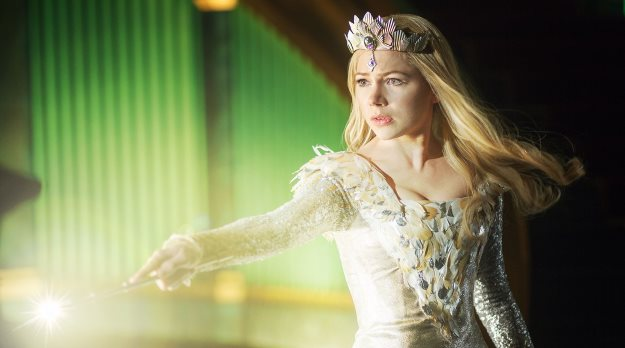 Michelle Williams as Glinda
