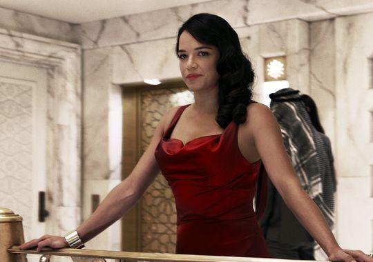 Michelle Rodriguez as Letty Ortiz.