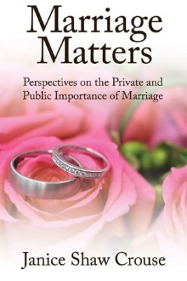 Marriage Matters: Perspectives on the Private and Public Importance of Marriage (2012).