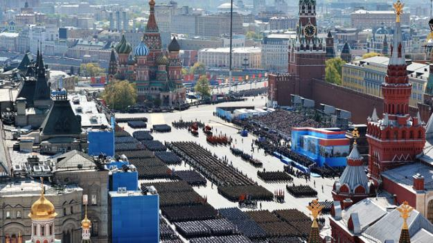 2015 Victory parade in Moscow.