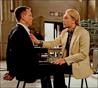 Skyfall: Daniel Craig and Javier Bardem
