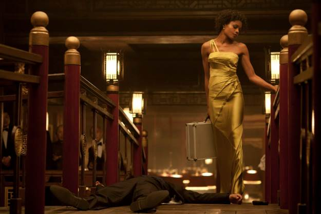 Naomie Harris as Eve in Skyfall.