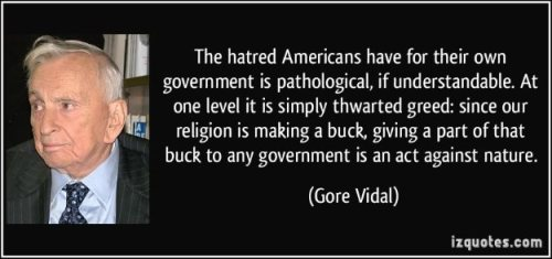 Hatred of Government