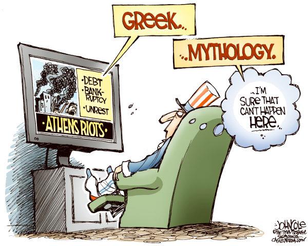 John Cole on Greece