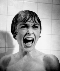 "Janet Leigh as Marion Crane in ""Psycho"" (1960)."