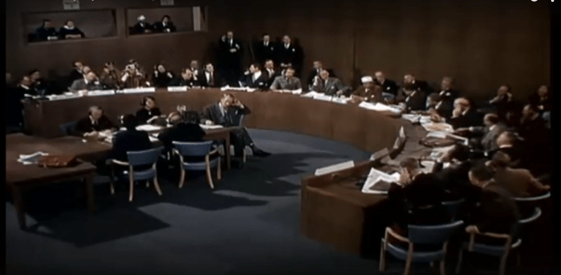 "Presenting at the UN. From ""When Worlds Collide"" (1951)."