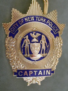 NYPD Captain's shield