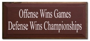 Defense Wins Championships