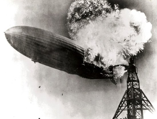 A hard landing for the Hindenburg