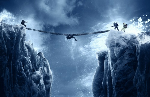 Ladder on Everest