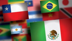 Flags of Latin America