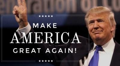 Trump: Make America Great Again