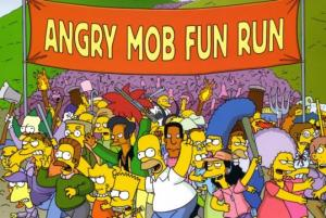 Campaign 2016 on The Simpsons