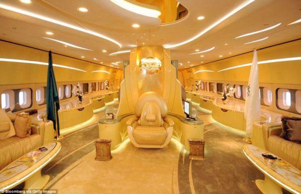 Aircraft of Saudi Prince Alwaleed bin Talal