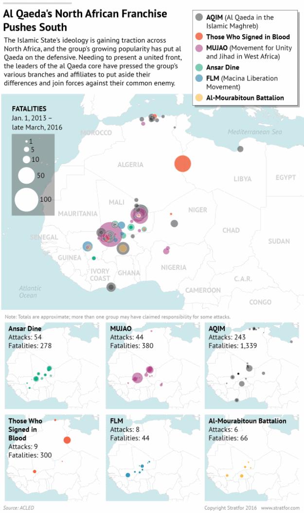 Stratfor: operations of al Qaeda in Africa
