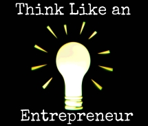 Think like a entrepreneur