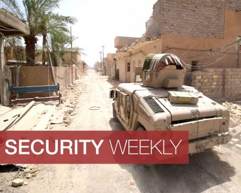 Iraq tanks drive through Fallujah