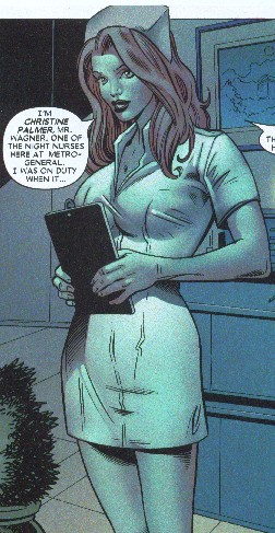 Christine Palmer in the Marvel comics