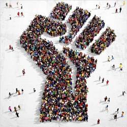 People's fist