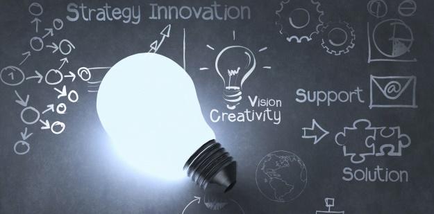 Ideas, designs, and light bulbs