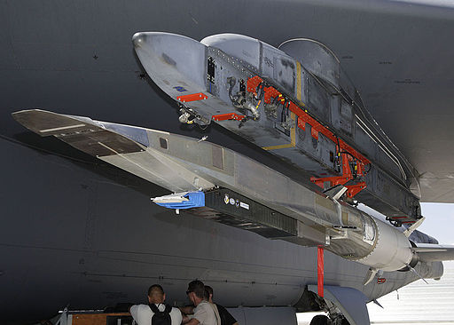 Boeing X-51A Waverider on a B-52 in 2009