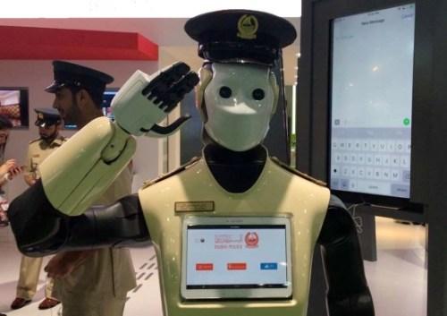Robot officer