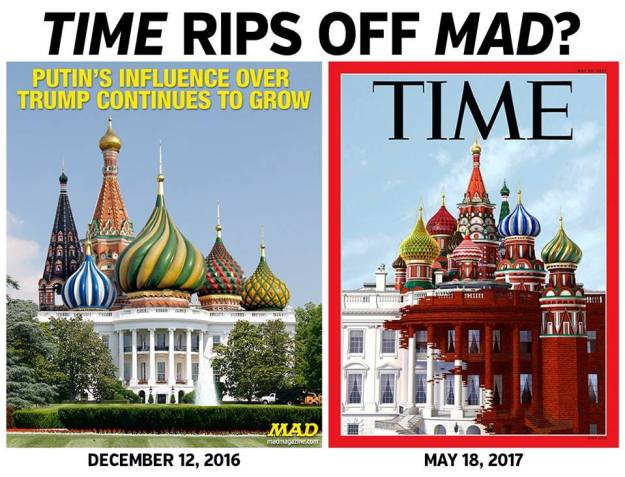 Our Russia-White House - Mad vs Time