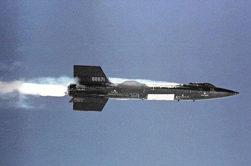 X-15 in flight