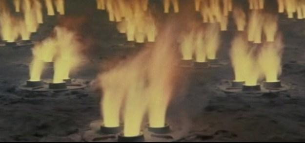 Atomic rockets at Antarctica